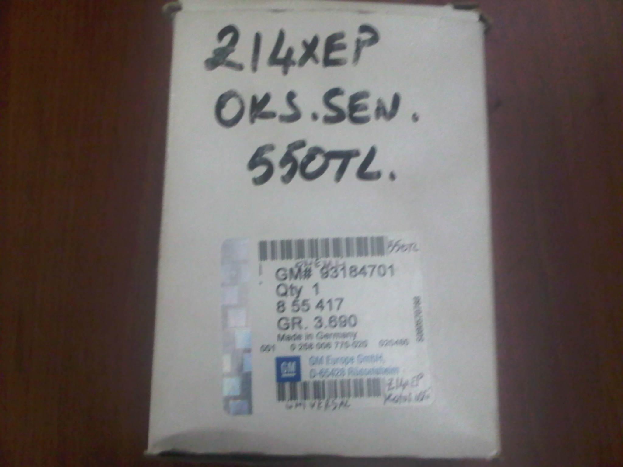 OPEL VECTRA C Z22YH BENZ�NL� OKS�JEN SENS�R�  855417